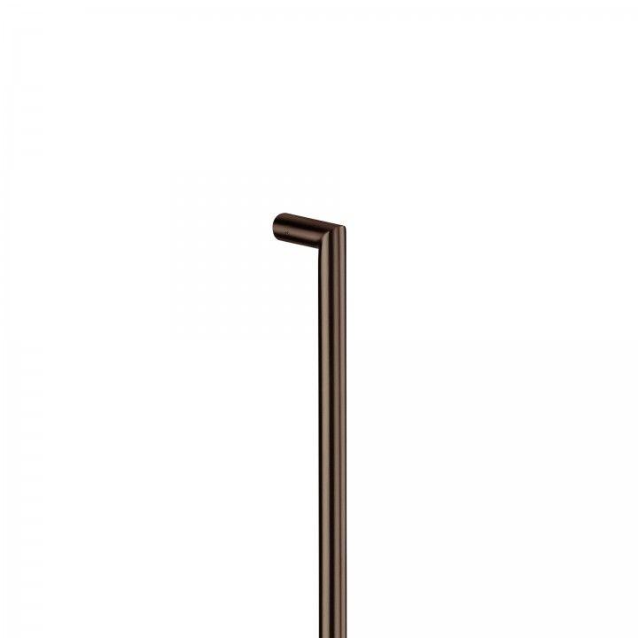 Pull handle - Ø19mm - Titanium Chocolate