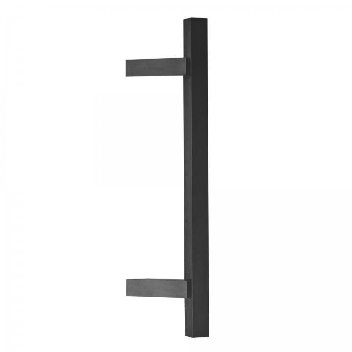 Manillon de puerta - Titanium Black