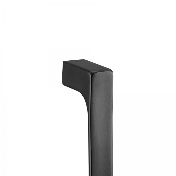 Double door handle  - Titanium Black