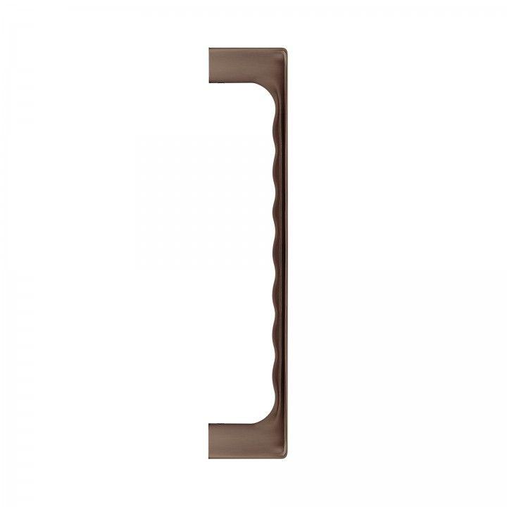 Double door handle  - Titanium Chocolate