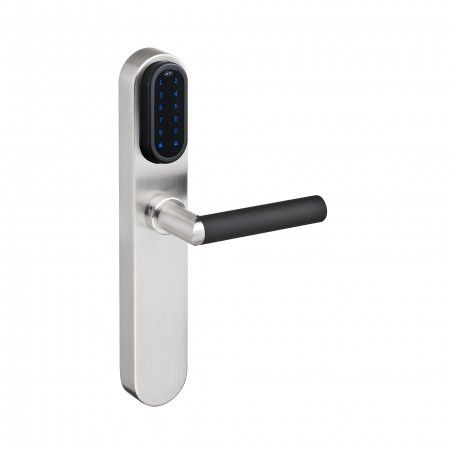 Electronic lock with number key pad With blind plate