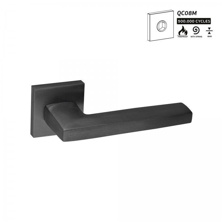 Manilla de puerta Metric  - Titanium Black