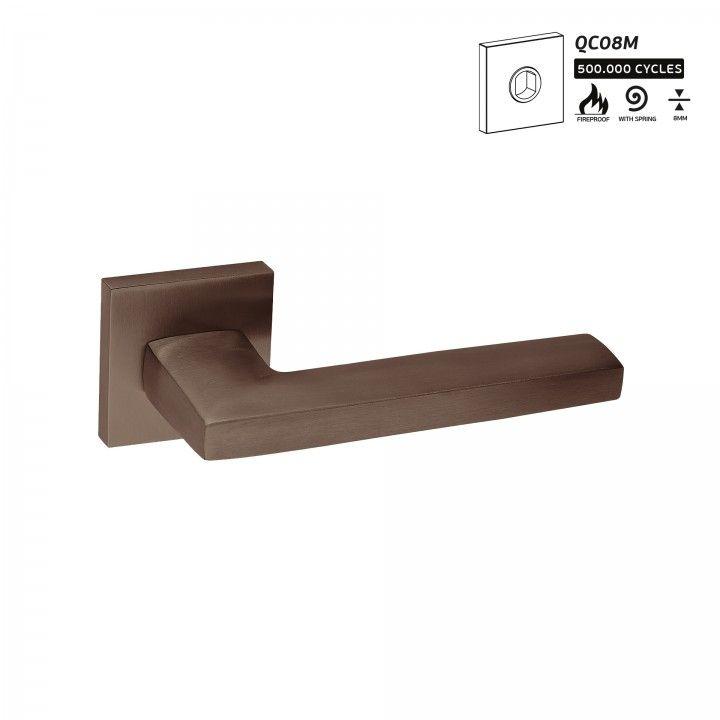 Manilla de puerta Metric  - Titanium Chocolate