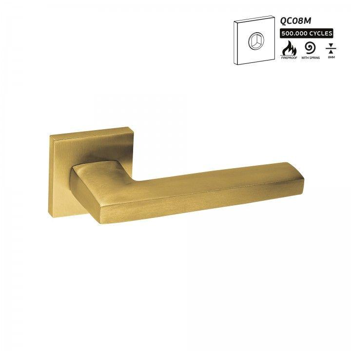 "Puxador de porta ""Metric"" - Titanium Gold"