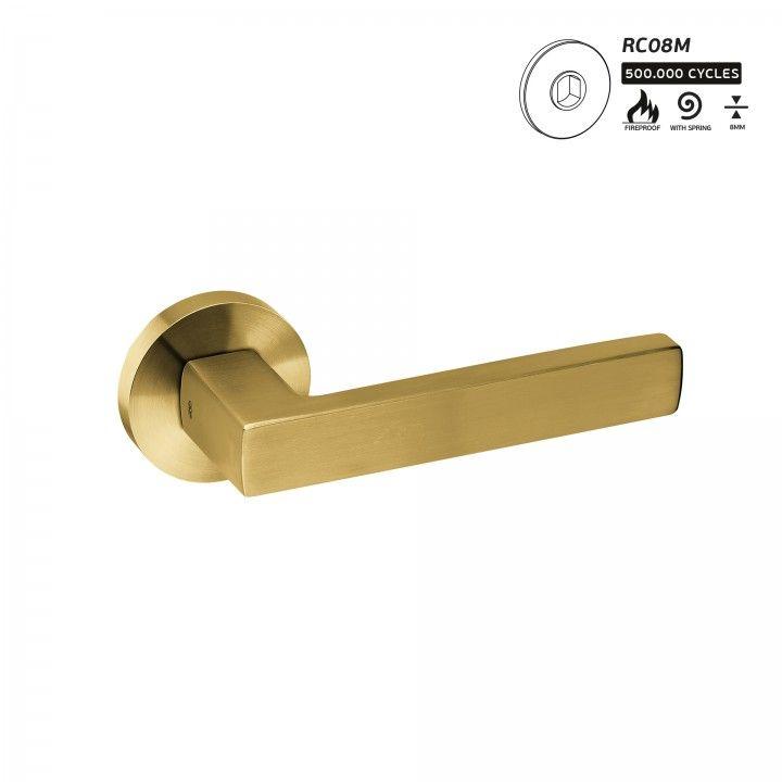 Manilla de puerta FUSION - TITANIUM GOLD
