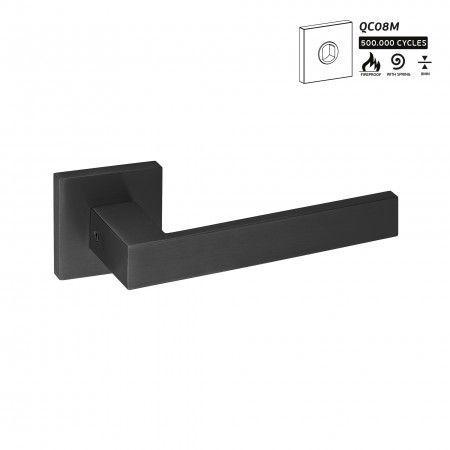 Lever handle  - Titanium Black