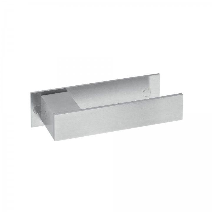 """Puxador de porta """"Square"""", com placa"""