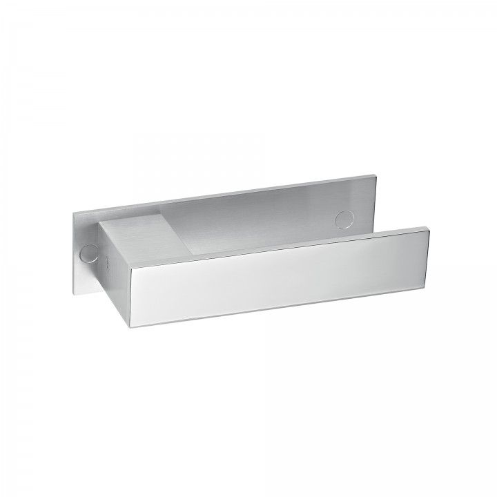 Lever handle Square, with plate