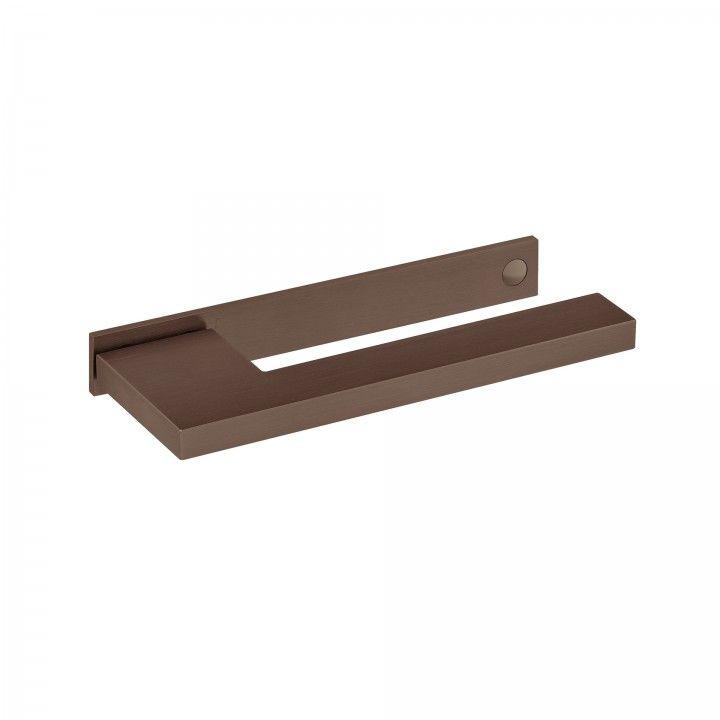 """Puxador de porta """"Slim""""  - Titanium Chocolate"""