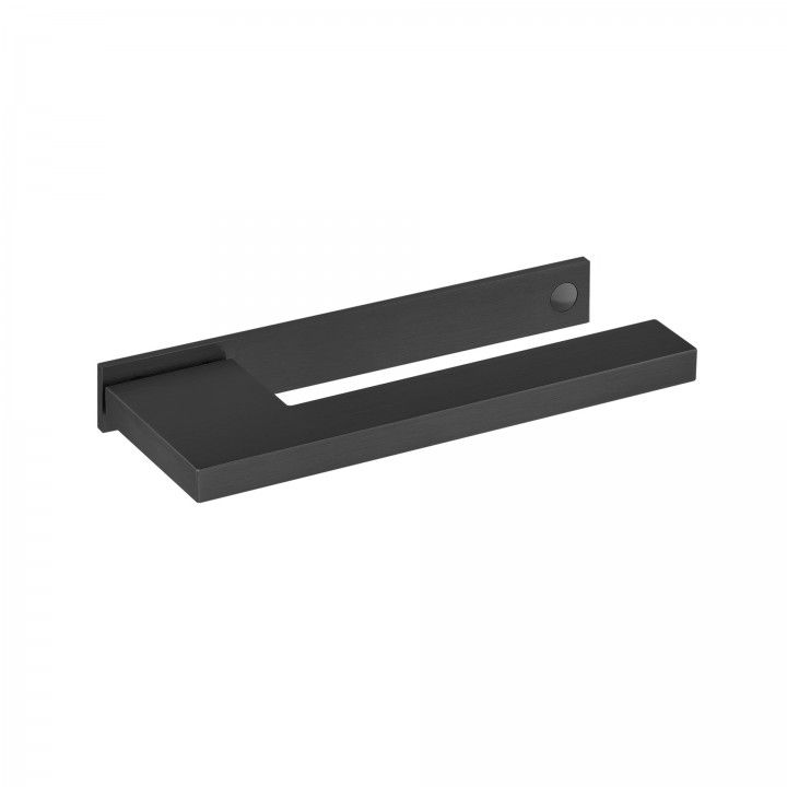 "Puxador de porta ""Slim""- Titanium Black"