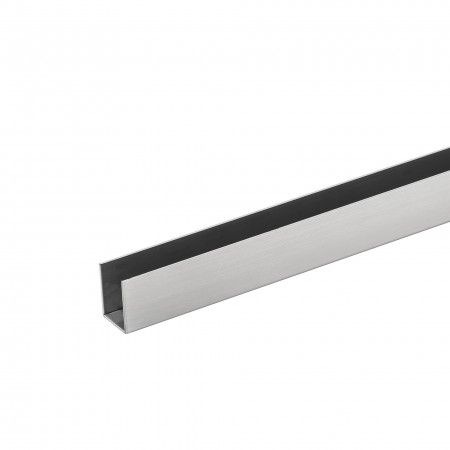 "U"" shape profile for 10mm panel (3000mm)"