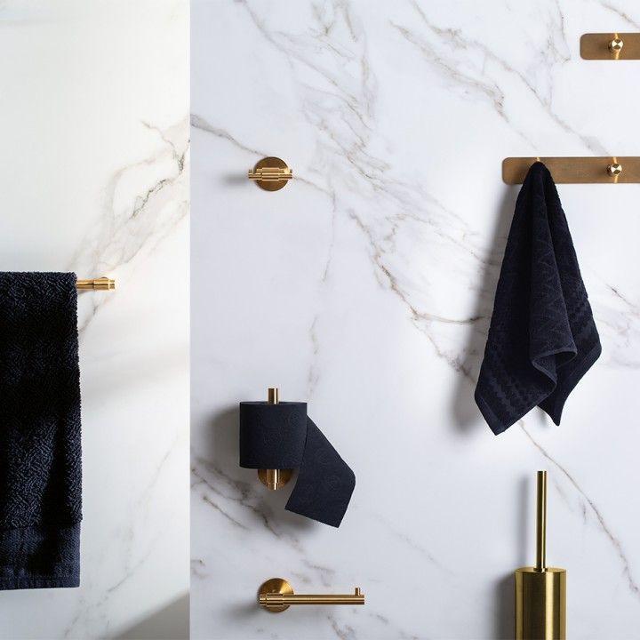 Towel holder Stout wc - Titanium Chocolate