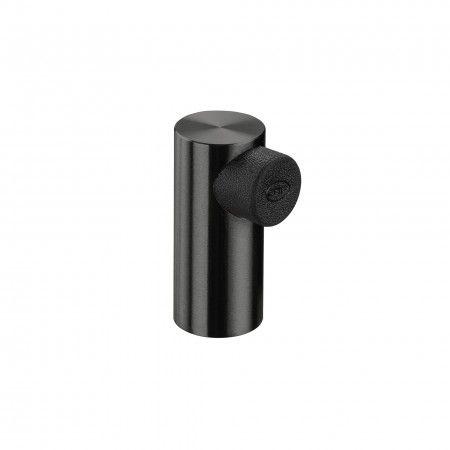 """Batente de chão - Ø20 - """"Titanium Black"""""""