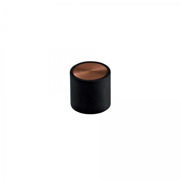Door stopper Loft - Ø30 - Titanium Copper