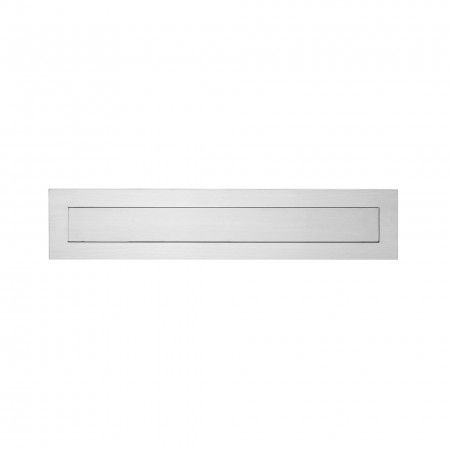 Letter plate with spring - 370 x 80mm