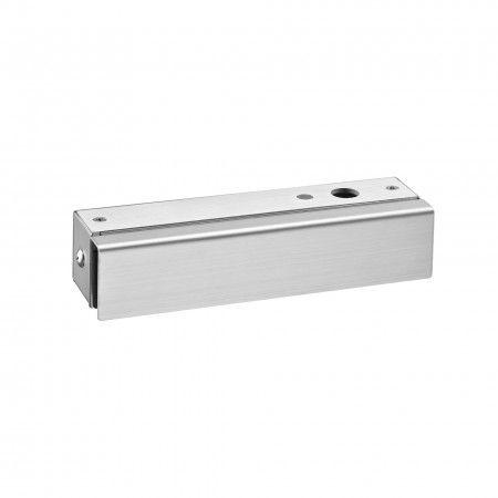 Strike box for glass door for IN28510