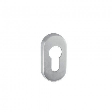 European cylinder key hole with nylon base - 60x30x8mm