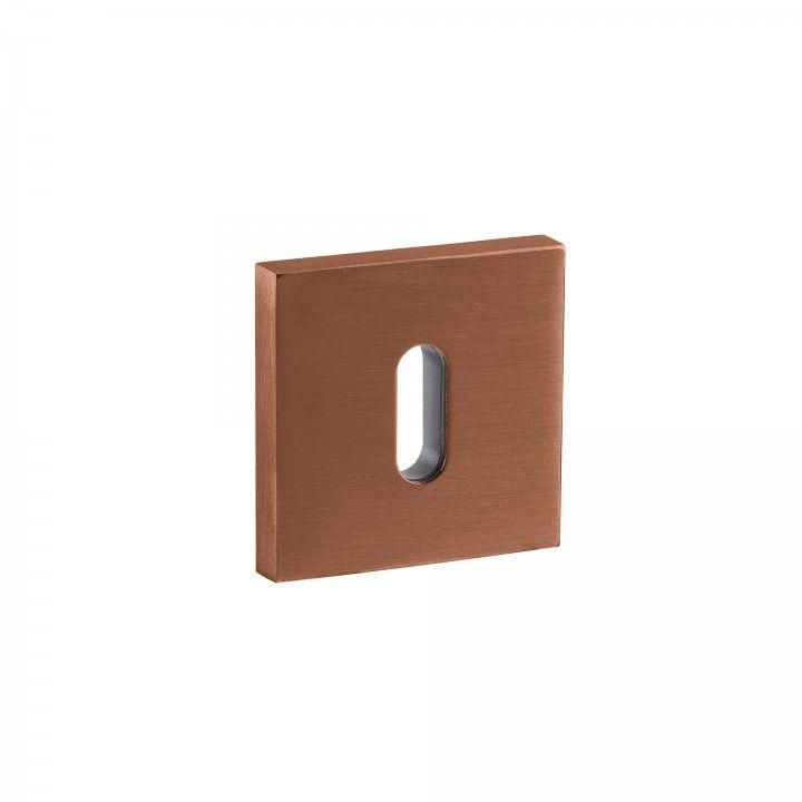 Entrada de chave normal - 50x50mm - Titanium Copper