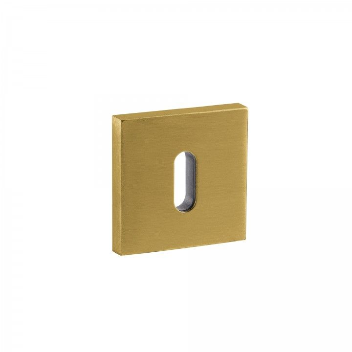 Normal key hole - 50x50mm - Titanium Gold