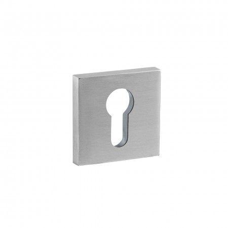 European cylinder key hole with nylon base - 50x50mm