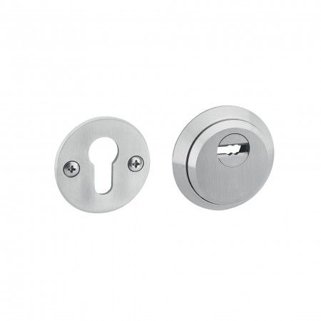 Adjustable protection rose for european cylinder - Solid