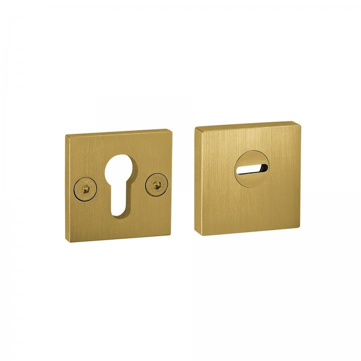 Adjustable and solid security protection rose for european cylinder - Titanium Gold
