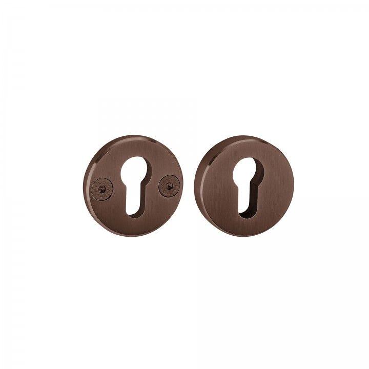 Escudete de segurança - Titanium Chocolate
