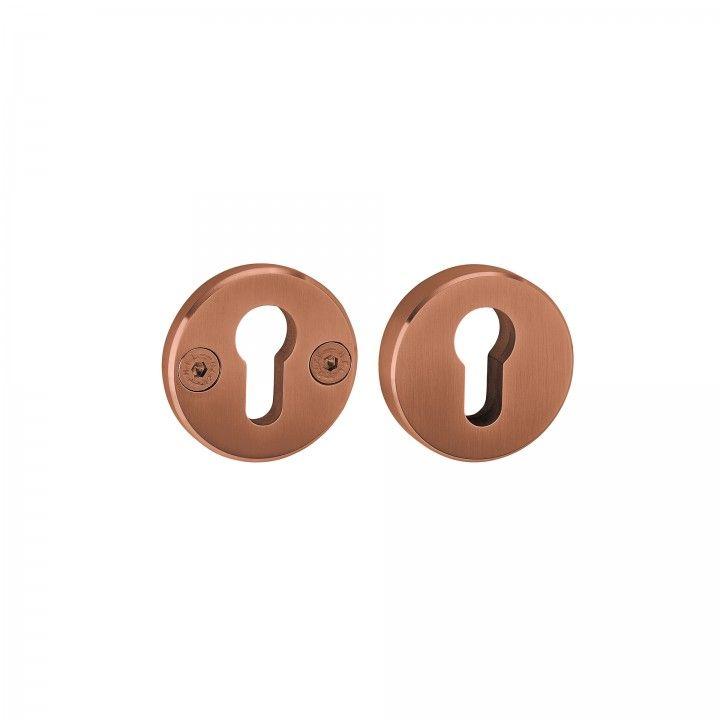 Escudete de segurança maciço - Titanium Copper