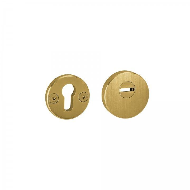 "Escudete de segurança - ""Titanium Gold"""