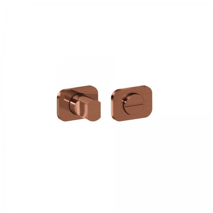 Bathroom lock OSAKA - Titanium Copper