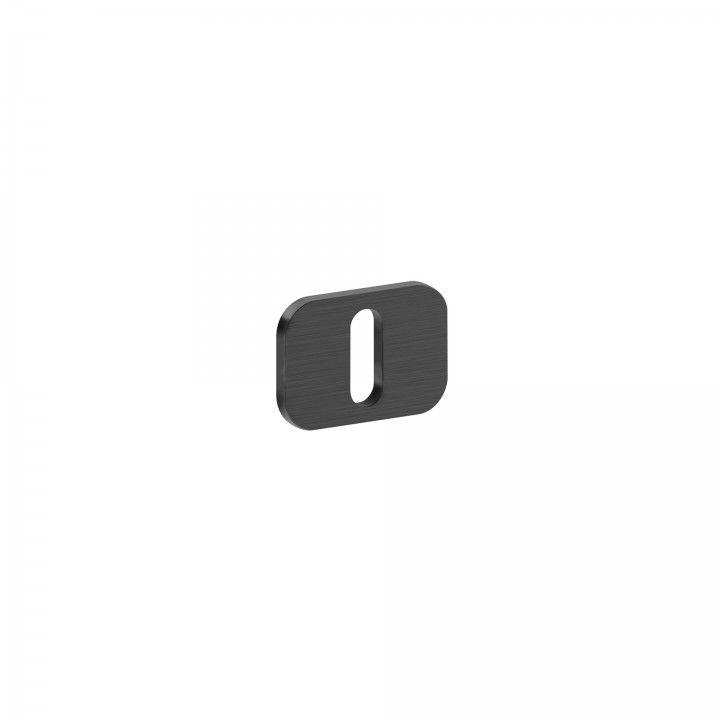 Entrada de chave metálica para chave normal 'OSAKA' - Titanium Black