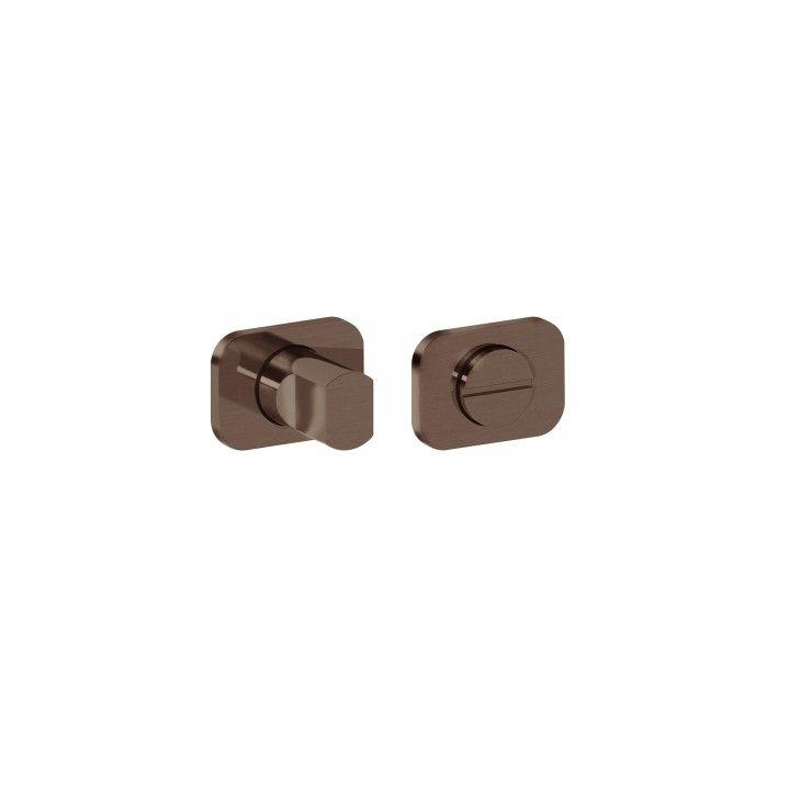 Fecho de WC 'OSAKA'  - Titanium Chocolate