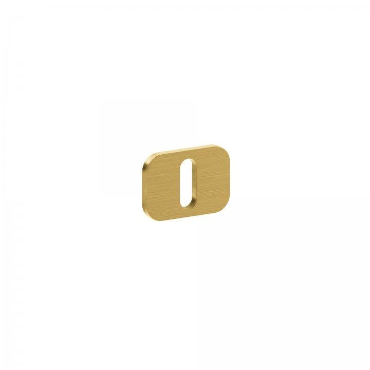 Entrada de chave metálica para chave normal 'OSAKA' - Titanium Gold