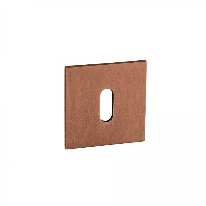 "Entrada de chave metálica para chave normal ""Less is more"" ""Titanium Copper"""