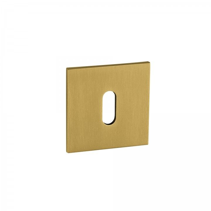 Metallic key hole for normal key Less is more - Titanium Gold