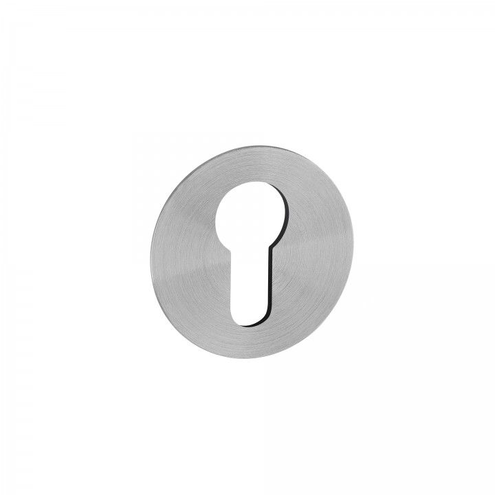 """Entrada de chave metálica para cilindro europeu """"Less is more"""""""