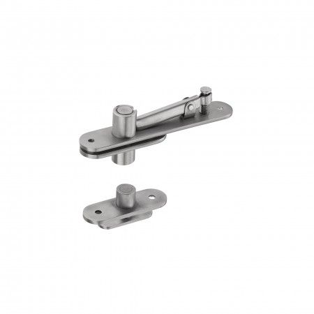 Flush hinge for double action and single action doors -80kg