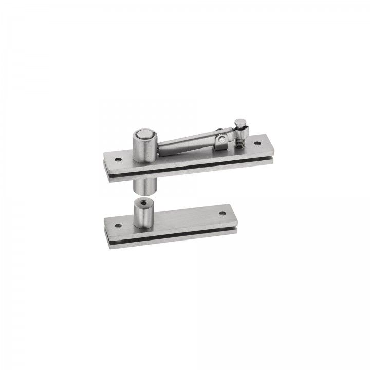 Flush hinge for double action and single action doors - Eco