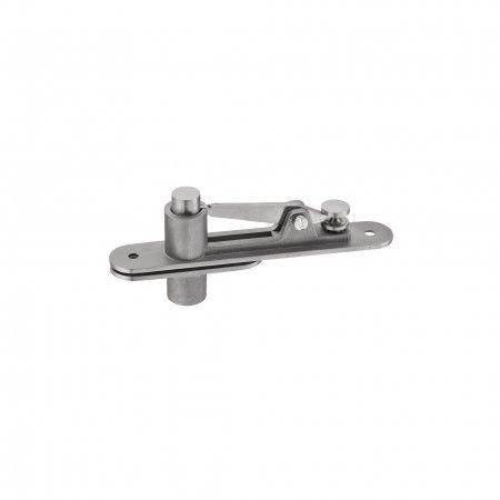 Top pivot with moveble axle