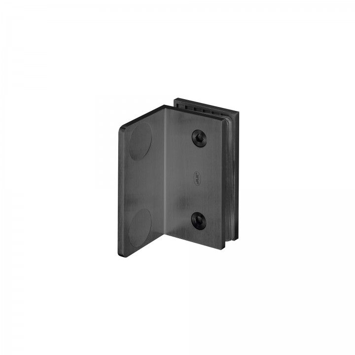 Wall to glass support - Titanium Black
