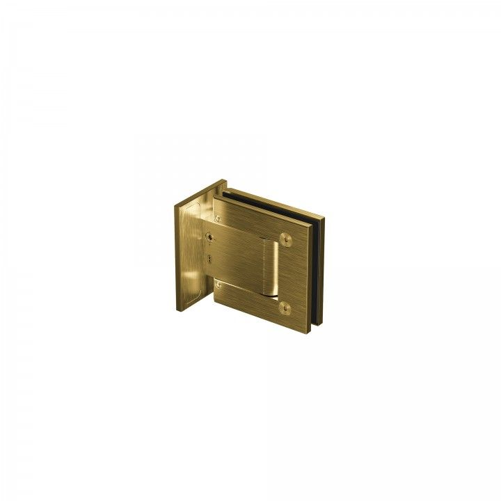 Dobardiça parede-vidro - Titanium Gold