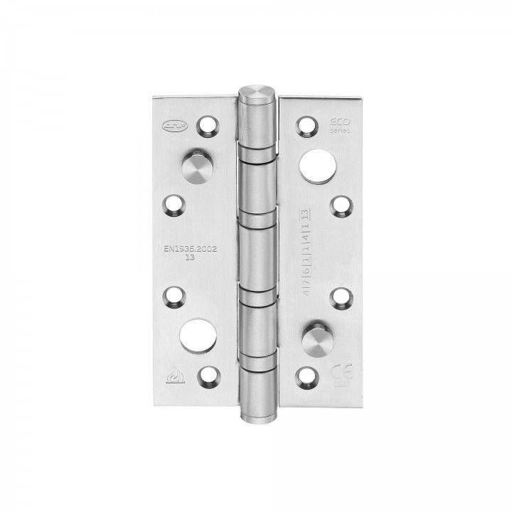 Safety hinge with four ball bearings - Eco series - 80 x 125 x 3mm