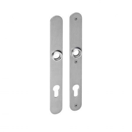 Security plate for european cylinder - 255 x 30mm