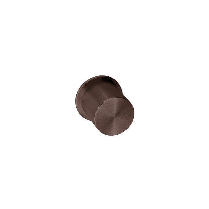 Turning knob Clean Pendular - Titanium Chocolate