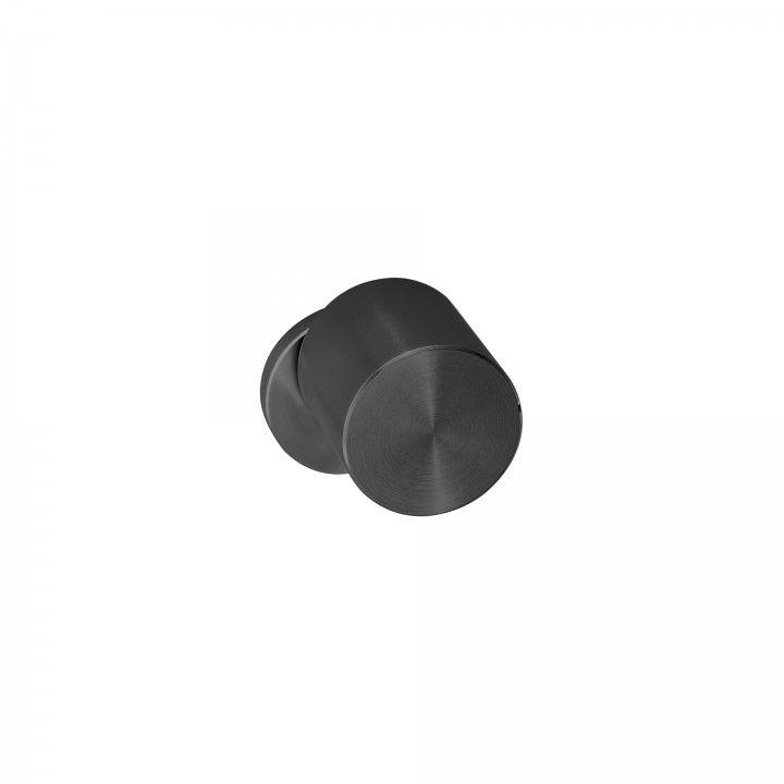 Pomo giratorio Clean Shadow - Titanium Black