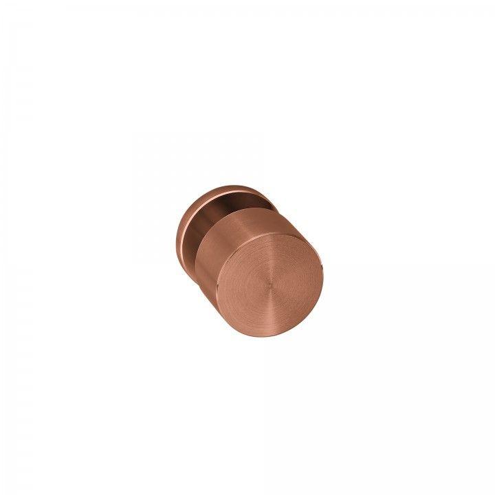 "Puxador de porta ""Clean Simple"", com roseta metálica RC08M TITANIUM COPPER"