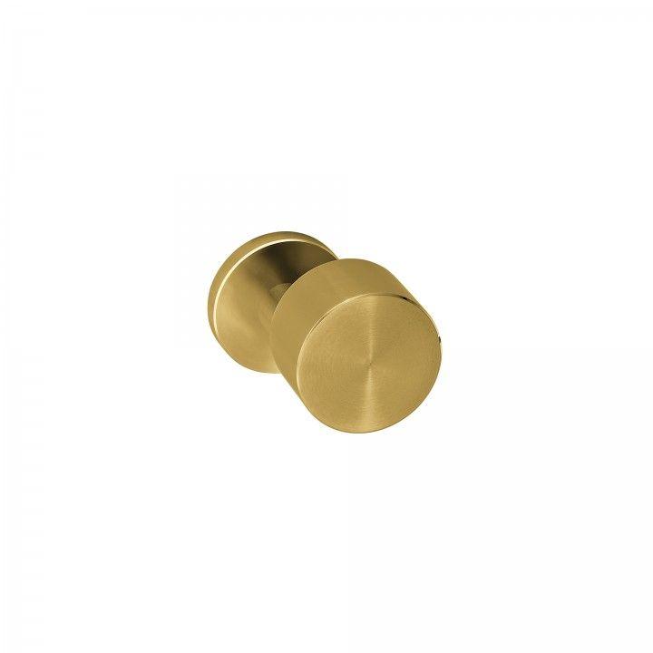 """Puxador de porta """"Clean Descentered"""" - Titanium Gold"""