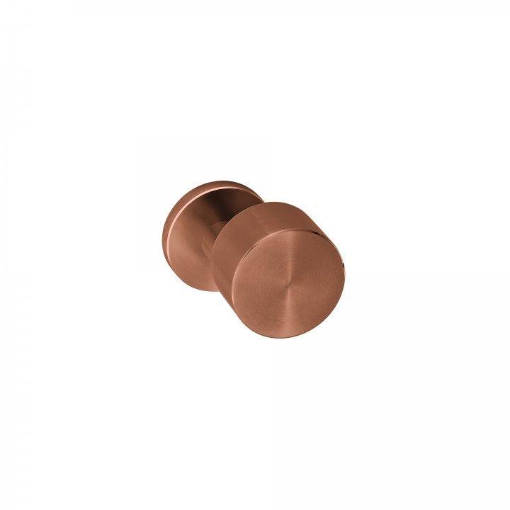 "Puxador de porta ""Clean Descentered"" - Titanium Copper"