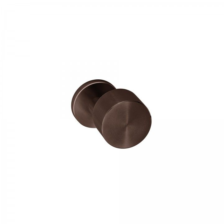 "Puxador de porta ""Clean Descentered"" - Titanium Chocolate"