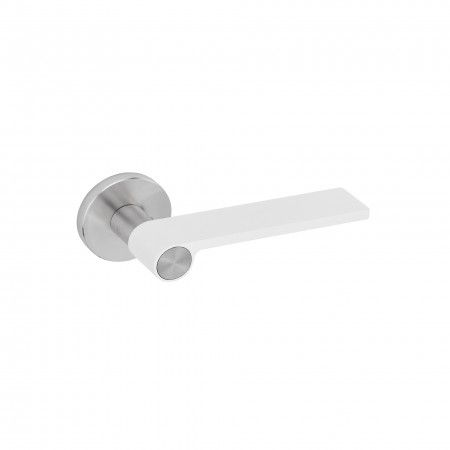 Lever handle Outline White